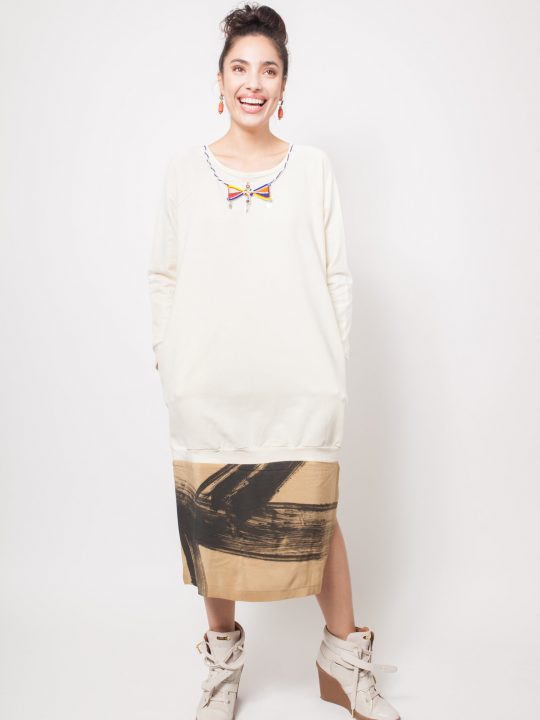 A_Front_Mixed-Media-Sweatshirt-Dress img